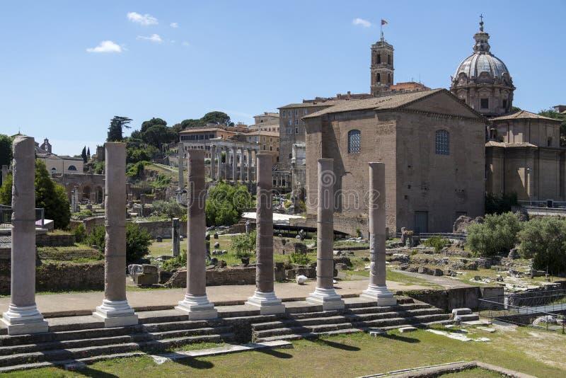 Roman Forum - Rome - l'Italie photographie stock