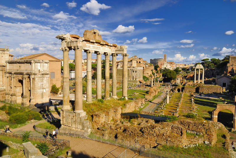 Download Roman Forum, Rome`s Historic Center, Italy. Stock Photo - Image: 83707212