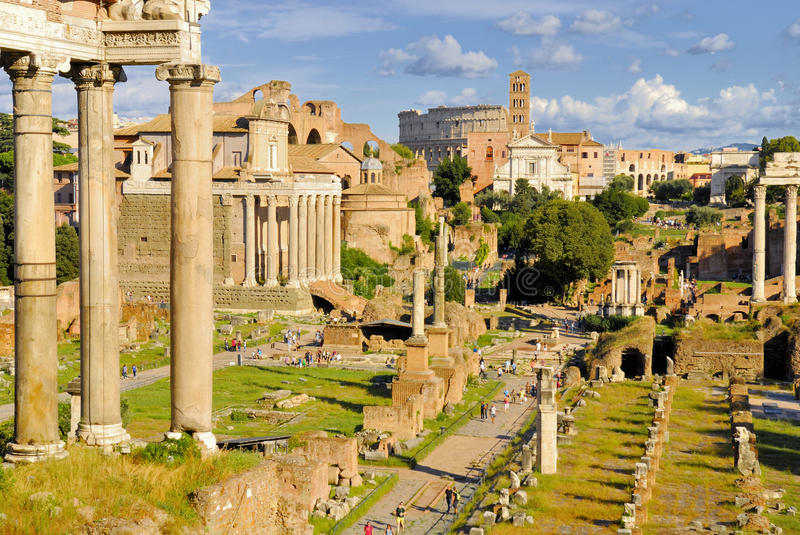 Download Roman Forum, Rome`s Historic Center, Italy. Editorial Photography - Image: 83708492