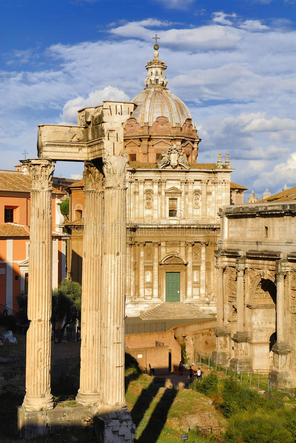 Download Roman Forum, Rome`s Historic Center, Italy. Editorial Stock Image - Image: 83708779