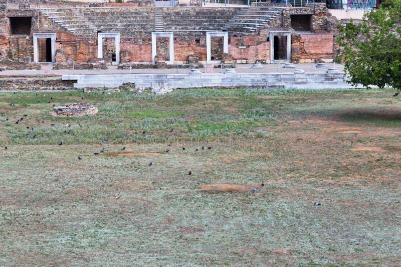 Roman Forum - Salonique images stock