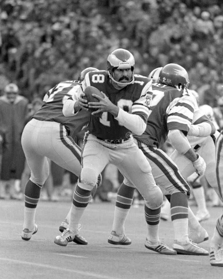 Roman Gabriel. Philadelphia Eagles QB Roman Gabriel. (Image taken from black and white negative royalty free stock images