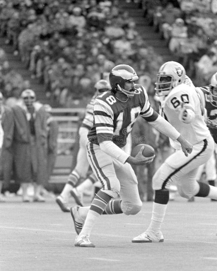 Roman Gabriel. Philadelphia Eagles QB Roman Gabriel. (Image taken from black and white negative royalty free stock image