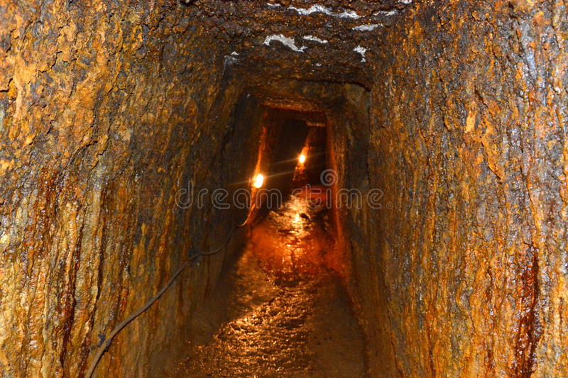 Roman gold mines in Rosia Montana, Apuseni Mountains, Transylvania. Rosia Montana is a commune of Alba County in the Apuseni Mountains of western Transylvania royalty free stock images