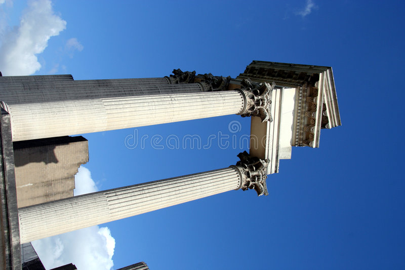 Download Roman harbor temple stock photo. Image of religion, history - 299604