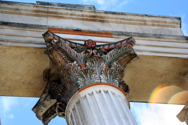 Download Roman Harbor Temple Closeup Stock Image - Image: 297745
