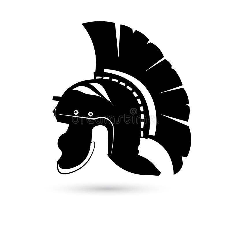 Roman helm royalty-vrije illustratie