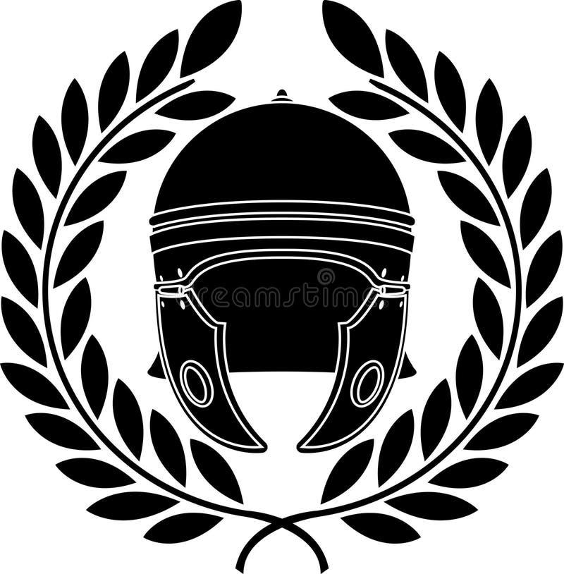 Download Roman helmet stock vector. Illustration of power, protection - 17836877