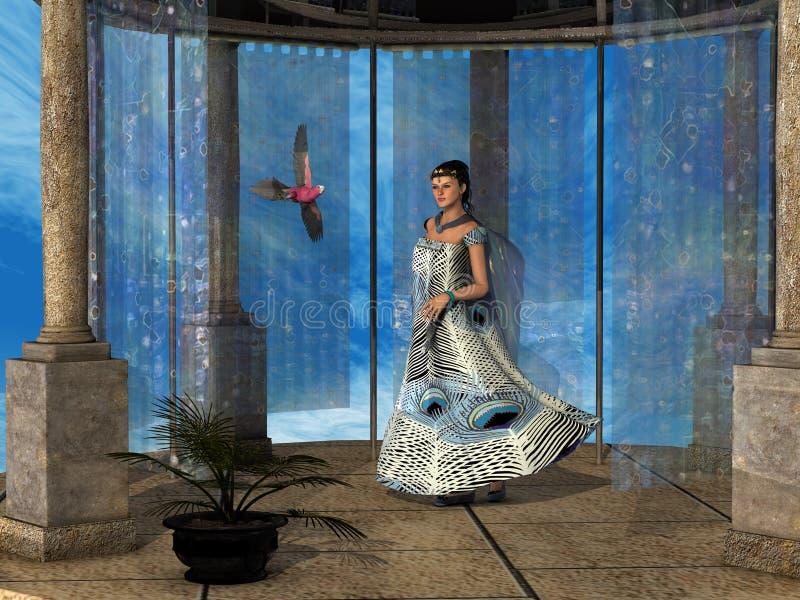 Download Roman Lady 03 stock illustration. Illustration of female - 21554333
