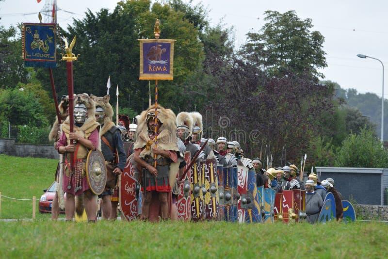 Roman legioen royalty-vrije stock fotografie