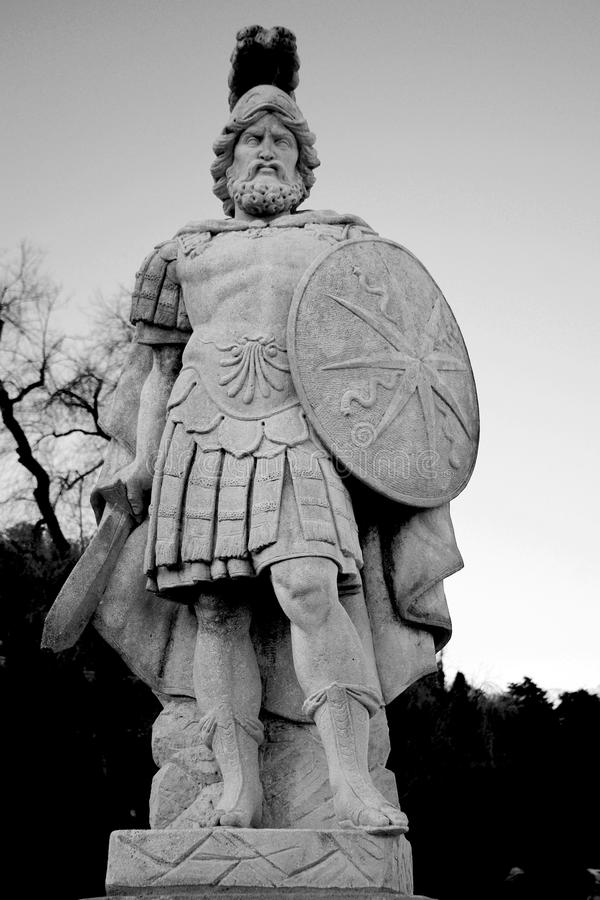 roman legionary royaltyfri bild