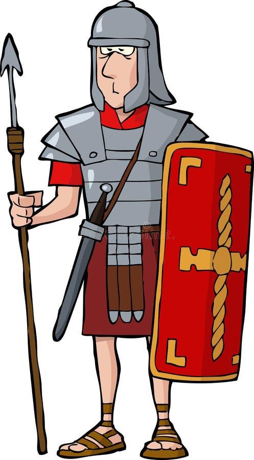 Download Roman legionary stock vector. Image of human, person - 32584154