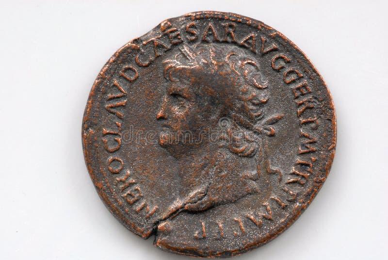 roman monet fotografia royalty free