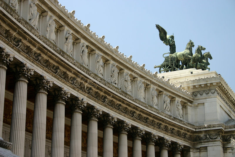 Roman monument royalty free stock photo
