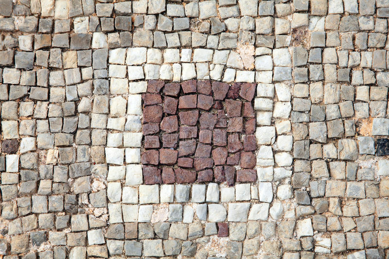 Roman Mosaic Border Stock Photo. Image Of Architecture - 35807880