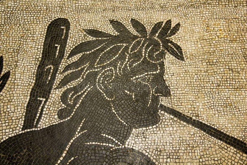 Roman Mosaic. Rome royalty free stock photos