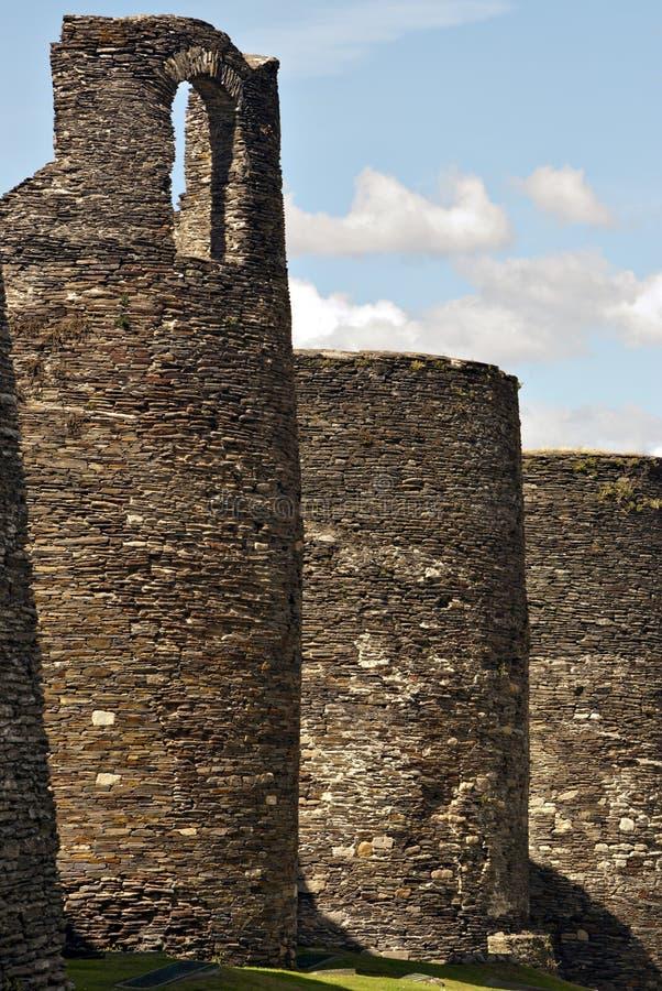 Roman Muren. stock afbeeldingen