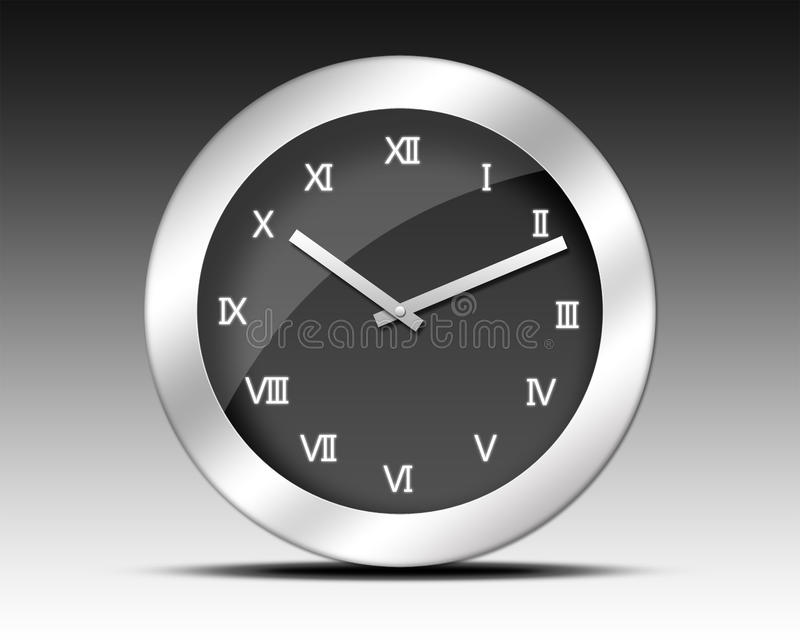 Download Roman Numerals Clock Royalty Free Stock Photography - Image: 25629567