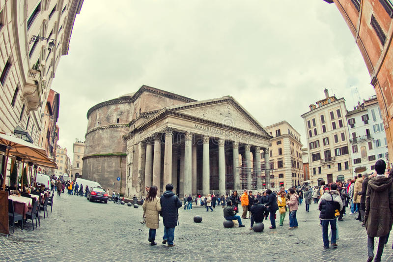 Download Roman Pantheon editorial photography. Image of empire - 23209572