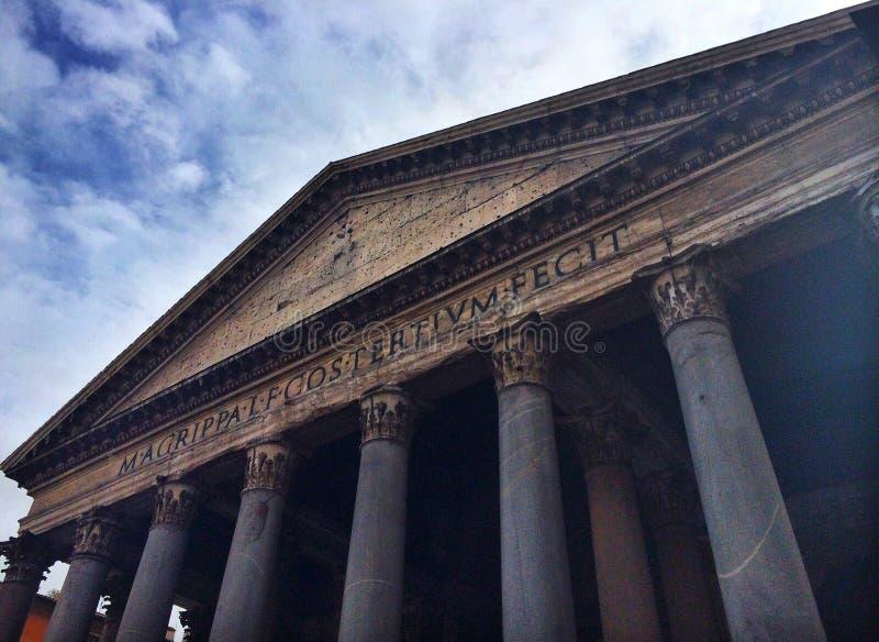 Roman Pantheon royalty-vrije stock afbeelding