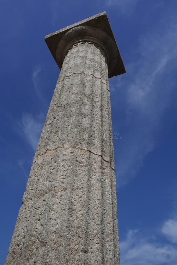 Roman pijler stock fotografie