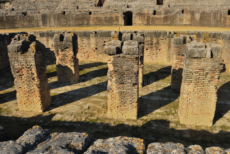 Roman Pit Royalty Free Stock Images