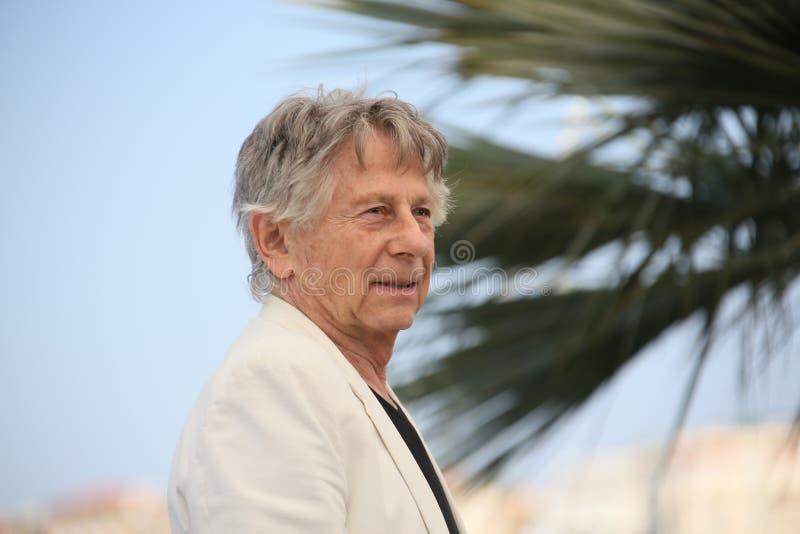 Roman Polanski assiste au ` basé sur un véritable ` d'histoire photographie stock libre de droits