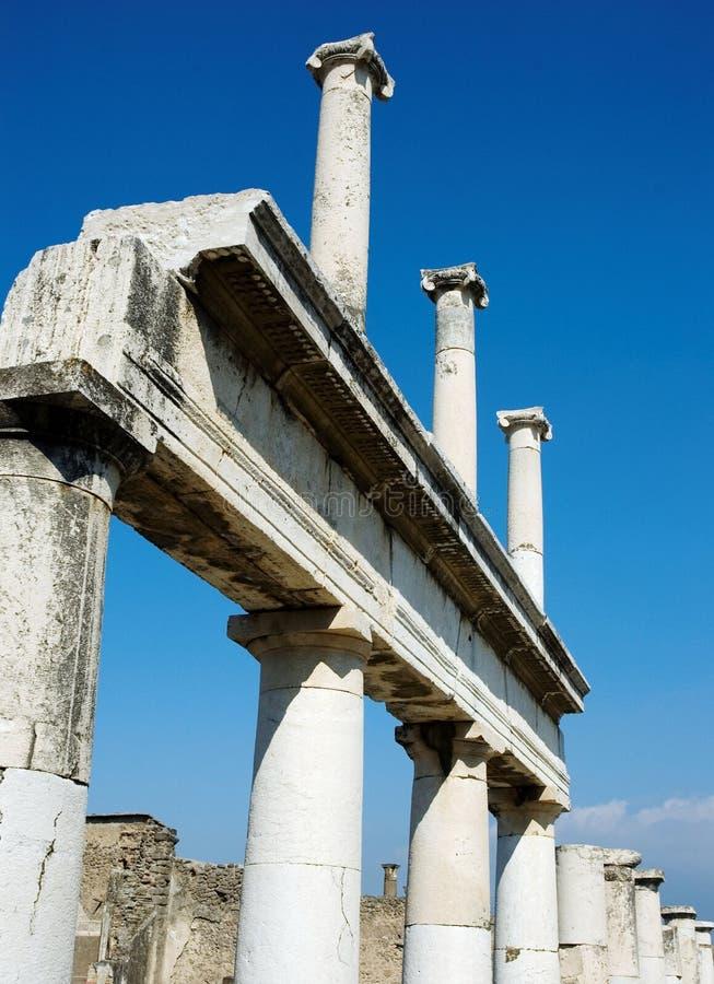 roman Pompei antiquites zdjęcia stock