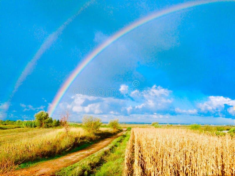 Roman Rainbow! royalty-vrije stock foto's