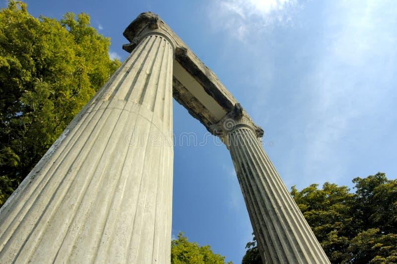 Roman remains stock photos