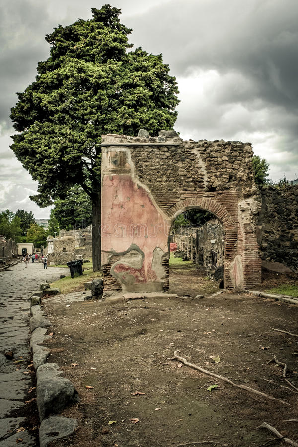 Download Roman ruin in Pompeii stock image. Image of europe, monument - 40205527