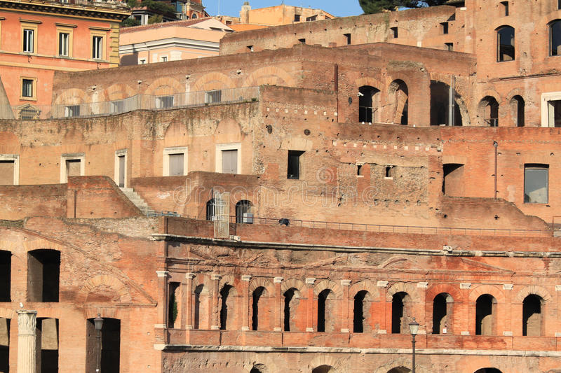 Download Roman ruins stock image. Image of town, traianum, architecture - 20293901