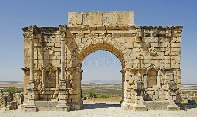 Roman Ruins royaltyfri foto
