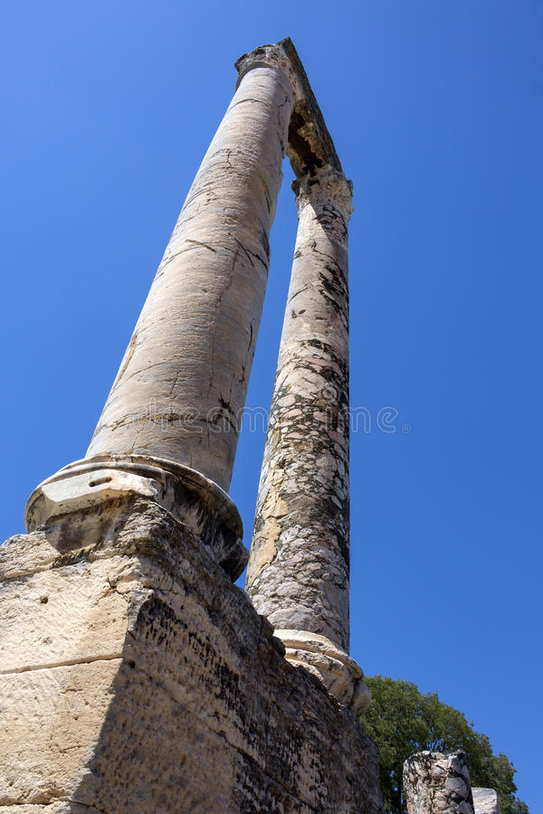 Download Roman Ruins - Arles - South Of France Stock Photo - Image: 26558872