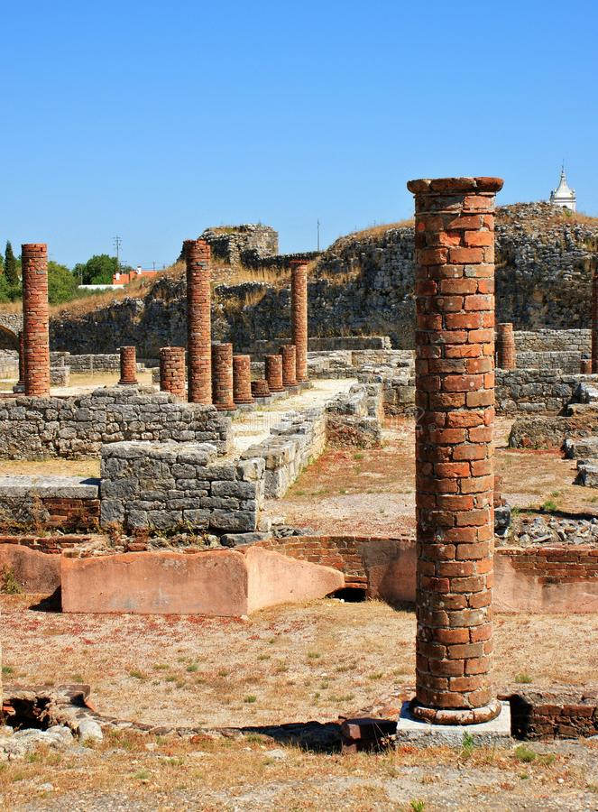 Download Roman ruins of Conimbriga stock photo. Image of oldness - 26527202