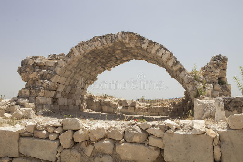 Roman ruins in Kizkalesi, Turkey royalty free stock photography