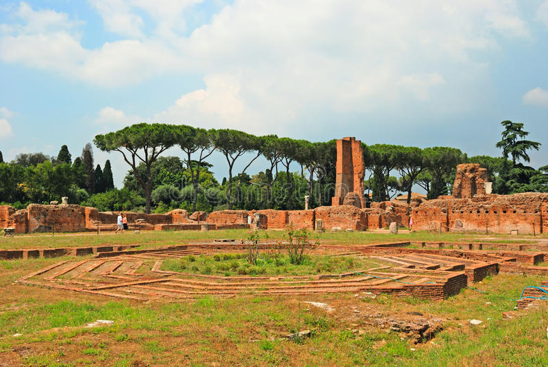 Download Roman ruins in Rome stock photo. Image of culture, africa - 18874122