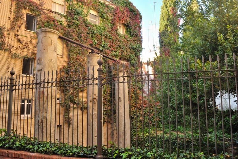 Roman ruins at Seville royalty free stock photography