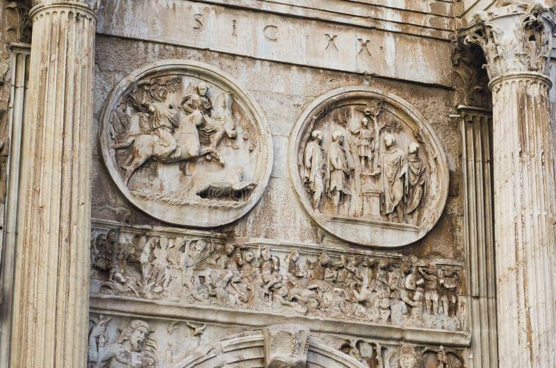 Roman Sculptures antigo foto de stock