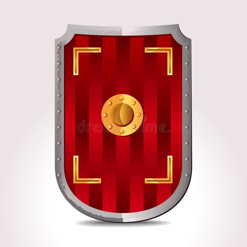 Download Roman Shield stock vector. Illustration of armament, shield - 17098544