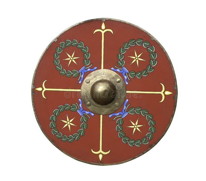 roman sköld för legionary royaltyfri bild