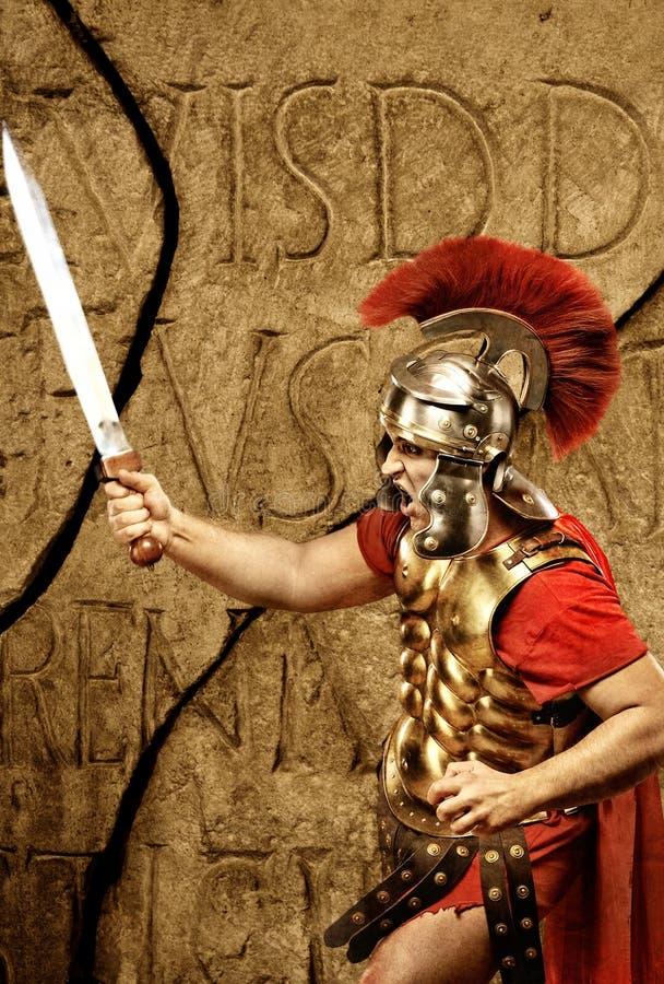 roman soldat för legionary arkivfoton