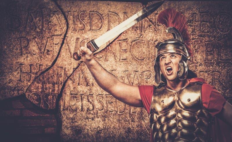 roman soldat för legionary arkivbild