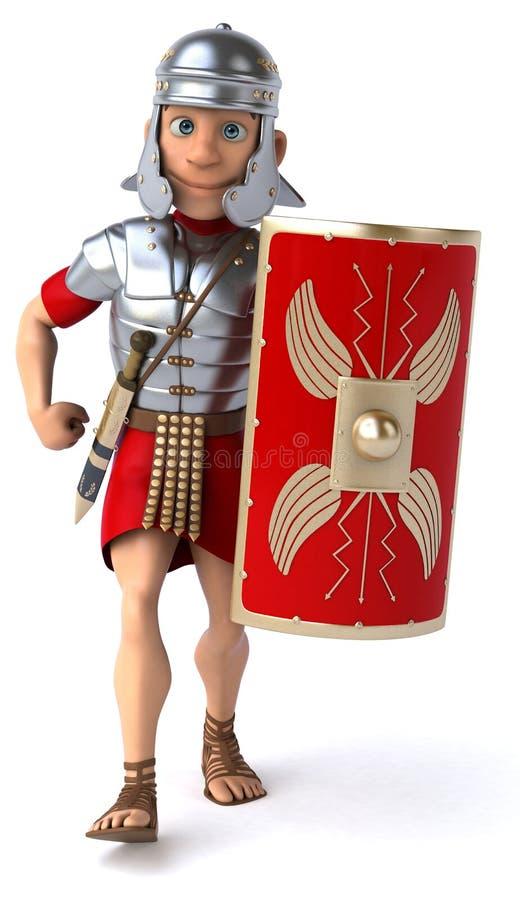 roman soldat för legionary royaltyfri illustrationer