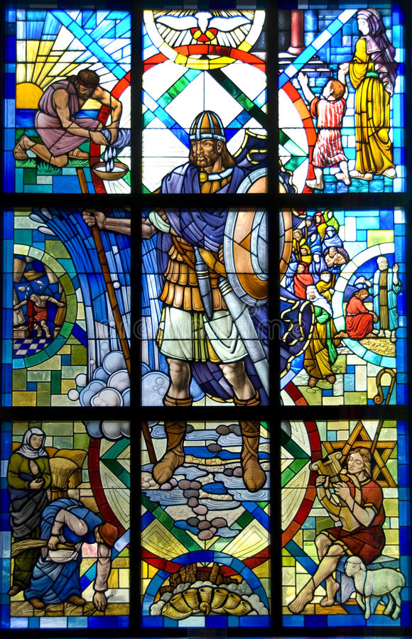 Download Roman Soldier Stained Glass Stock Image - Image of christian, mother: 24252973