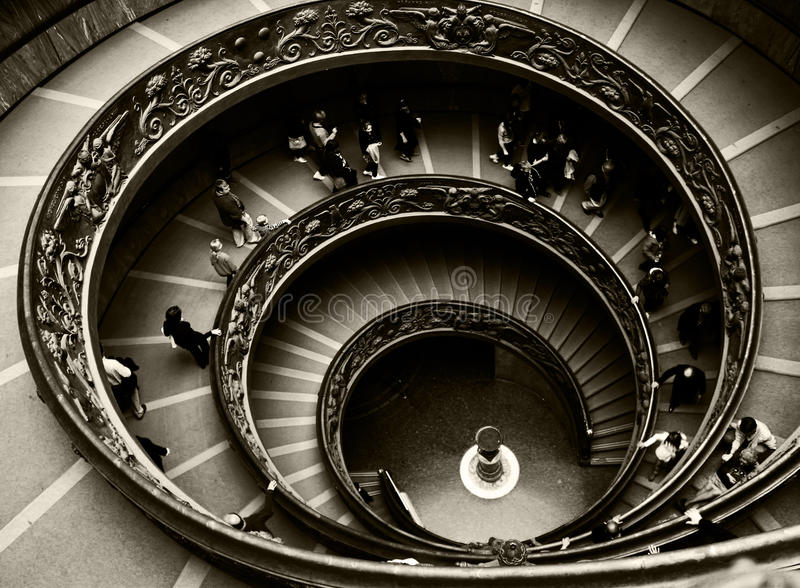Roman Spiral royalty free stock photography