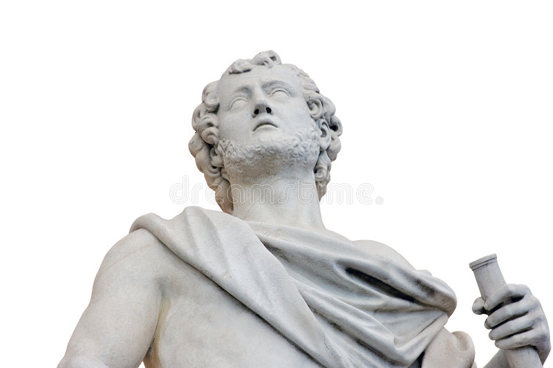 Roman standbeeld stock fotografie
