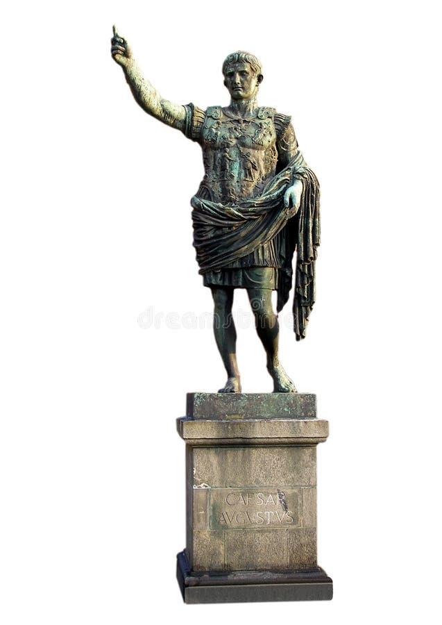 Roman standbeeld stock afbeeldingen