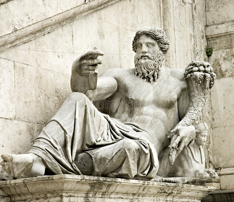 Roman statue royalty free stock image