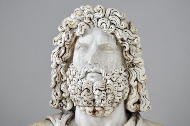 Roman Statue of Jupiter royalty free stock image
